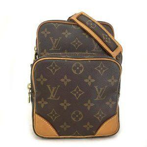 Auth Louis Vuitton Monogram Amazone Crossbody Bag